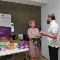 Benefiz 2019 - 800 Bücher gesamt an soziale Einrichtungen übergeben